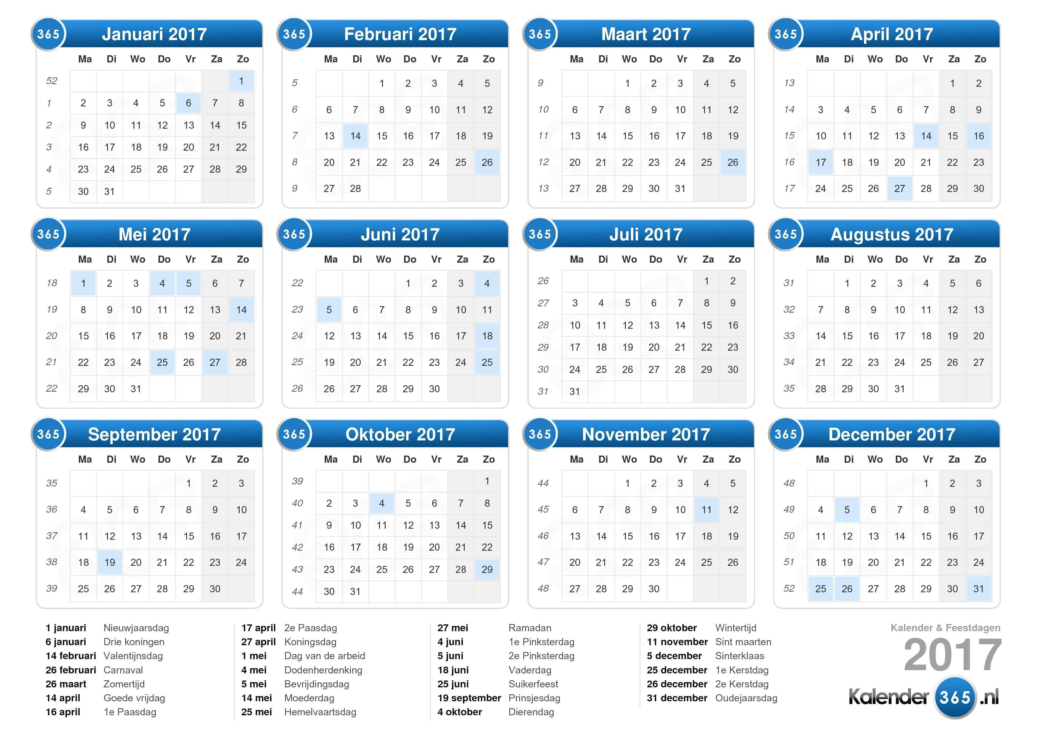 Kalender 1017